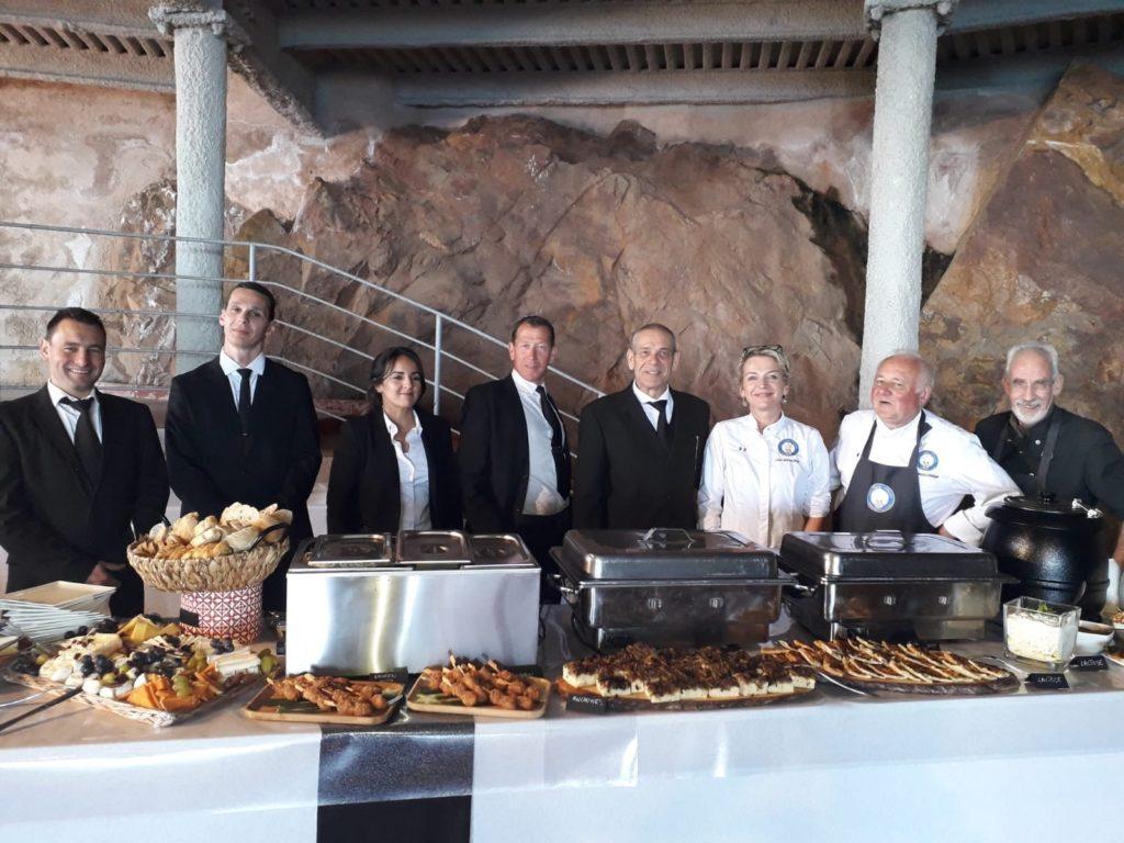 Catering pour un évènement dans les alpes maritimes
